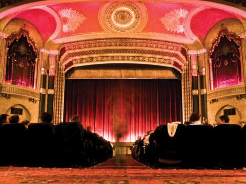 O Oriental Theater (Teatro Oriental), local do Milwaukee Film Festival