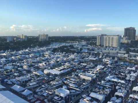 Show internacional de barcos de Fort Lauderdale