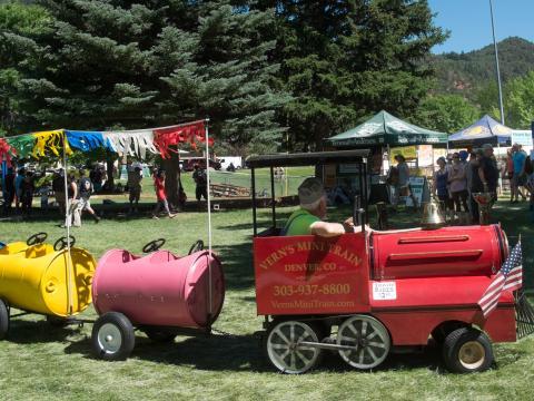 Festividades no Strawberry Days em Glenwood Springs