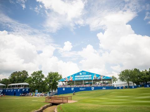 O NW Arkansas Championship, uma parada no LPGA Tour, em Rogers, Arkansas